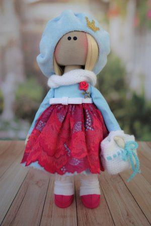Эксклюзивная кукла ручной работы