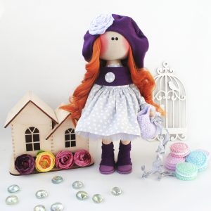 Авторская текстильная кукла