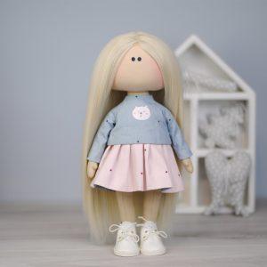 Коллекционная кукла ручной работы