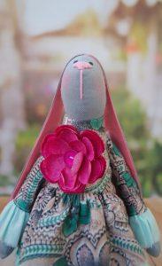 Текстильный кролик