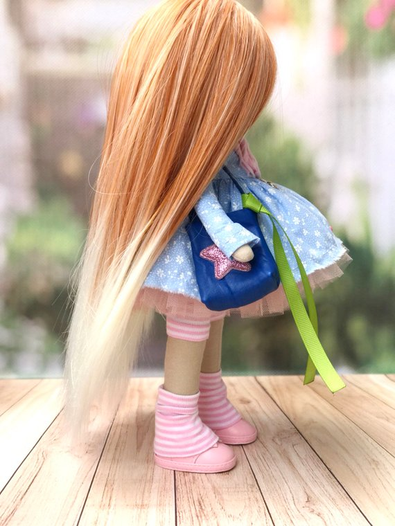 Кукла хэнд-мейд
