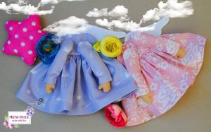 Куклы ангелы ручной работы