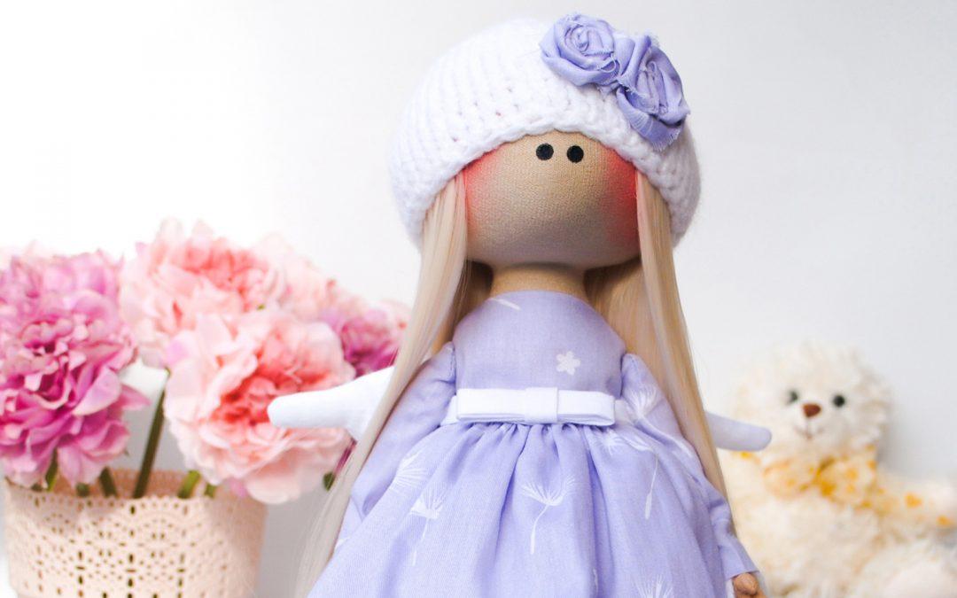 Кукла ручной работы — Ангел
